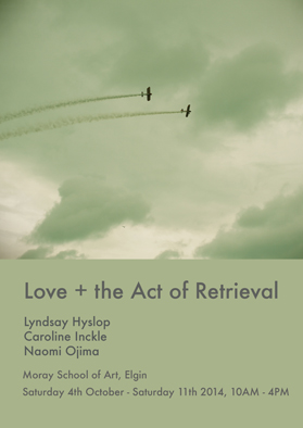Poster love +the act of retrieval fb